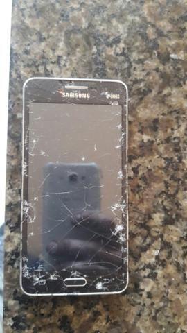 Samsung gran pprine duos tela trincada funcionando - Foto 3