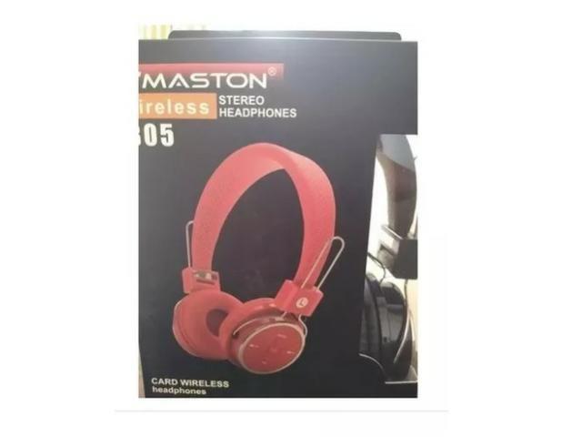 Fone De Ouvido Sem Fio Hmaston Wireless Headphone B05 Oferta - Foto 2