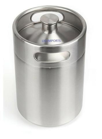 Barril de 5 Litros em Aço Inox Keg - Realengo - Foto 5