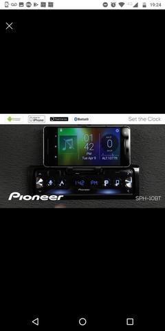 Auto Rádio Pioneer Sph - c10bt Bluetooth Smart sync - O MAIS TOP - Apenas 2 meses de uso - Foto 2
