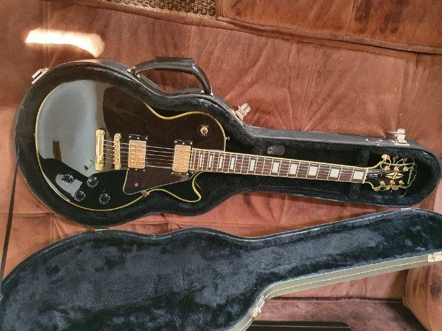 Guitarra EpiPhone Les Paul Custom Pro - Super Nova!! - Foto 5
