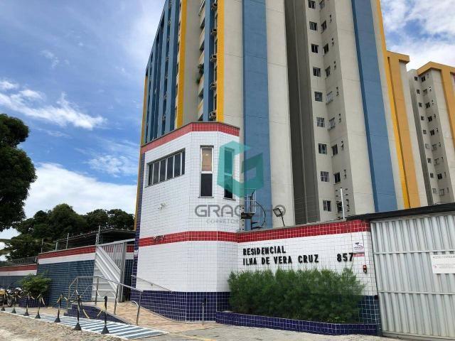 Apartamento com 3 dormitórios à venda, 60 m² por R$ 230.000 - Parangaba - Fortaleza/CE - Foto 2
