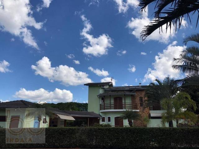Casa com 4 dormitórios para alugar, 578 m² por R$ 12.000,00/mês - Condomínio Helvetia Coun - Foto 5