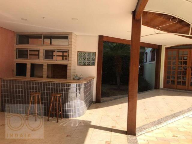 Casa com 4 dormitórios para alugar, 578 m² por R$ 12.000,00/mês - Condomínio Helvetia Coun - Foto 6