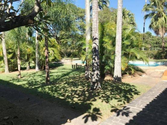 Chácara com 3 dormitórios para alugar, 5000 m² por R$ 7.000,00/mês - Condomínio Vila Suévi - Foto 5