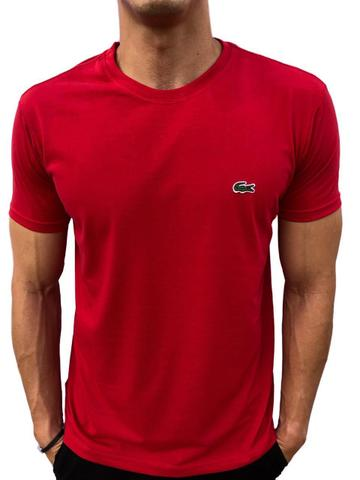 Camisa lacoste vermelha