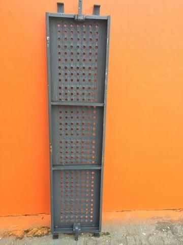 Pisos Metálicos 1,50m x 0,37m Reforçado -Novo - Foto 5
