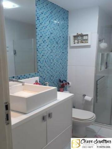 Alugo apartamento 3/4 no Stiep   90 m²  Aluguel R$2.260,00 com taxas - Foto 6