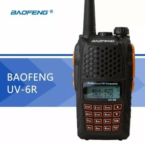 Rádio comunicador baofeng uv-6r - Foto 5
