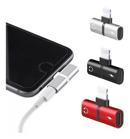 Adaptador Para Fone de Ouvido e Carregador iPhone