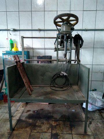 Máquina de retificar e brunir cilindro - Foto 5