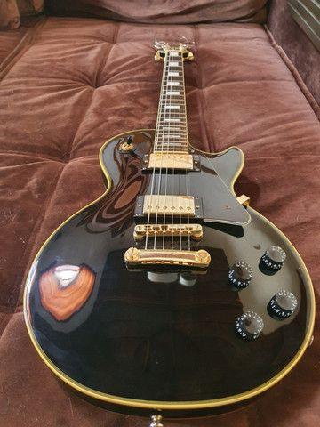 Guitarra EpiPhone Les Paul Custom Pro - Super Nova!! - Foto 2