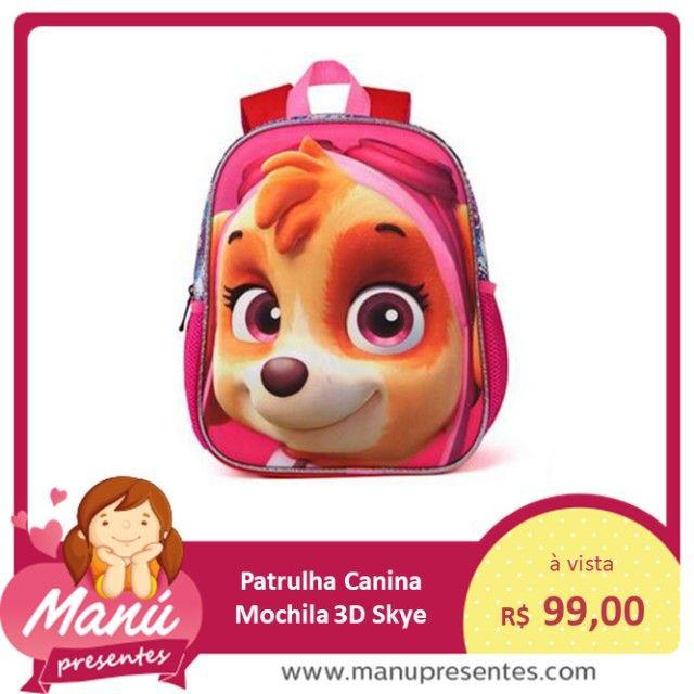 Mochila Patrulha Canina 3D - Skye