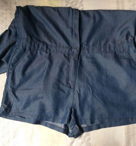 Macaquinho Jeans 46 - Foto 4