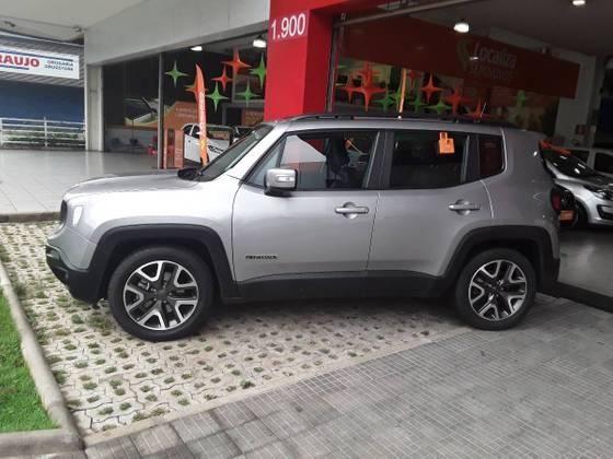 RENEGADE 2019/2019 1.8 16V FLEX LONGITUDE 4P AUTOMÁTICO - Foto 8