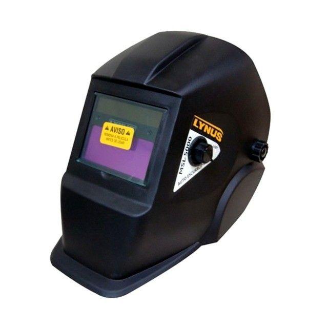 Máscara De Solda Lynus MSL-5000 Escurecimento Automático - Foto 2
