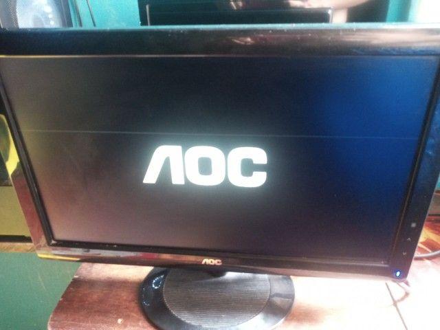 Monitor AOC 18 polegadas LCD - Foto 6