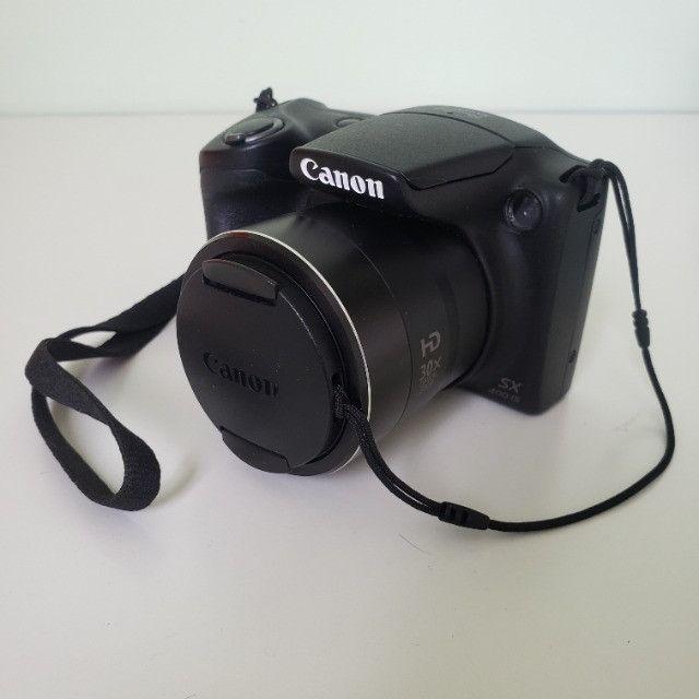 Câmera Digital Compacta Canon PowerShot SX400 IS 16MP Preto - Foto 6