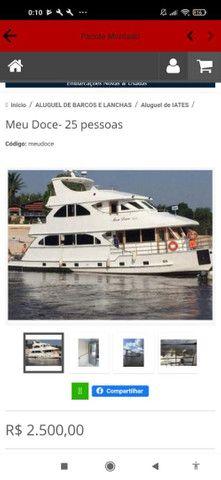 Alugue de barcos e lanchas em manaus !Passeio privativo  - Foto 2