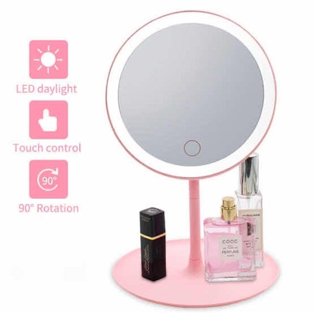 Espelho com Luz de Led P/ Maquiagem Ajustável  - Foto 5