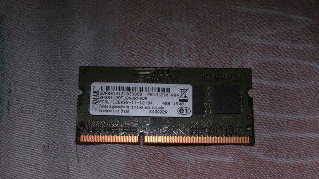Memória DDR3 4gb 1333Mhz CL9 para notebook
