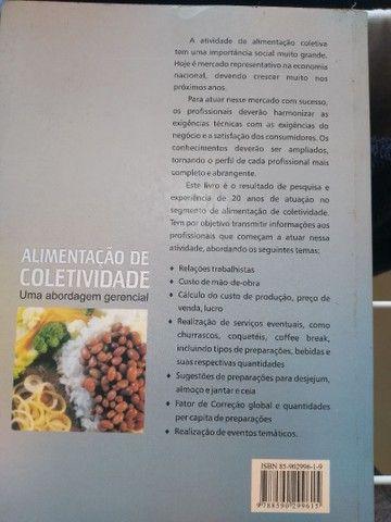 Livro nutrição de coletividade - Foto 2