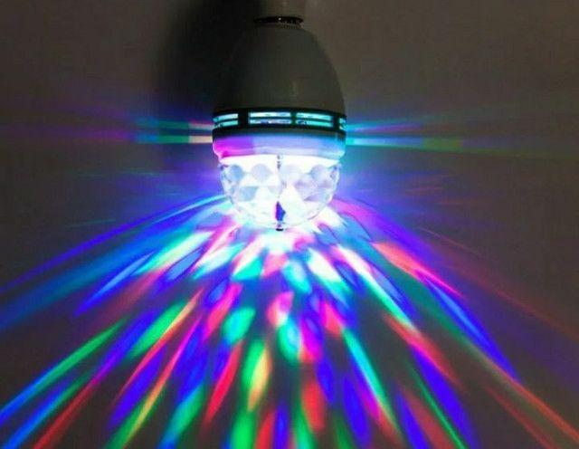 Lâmpada Giratória RGB  - Foto 3