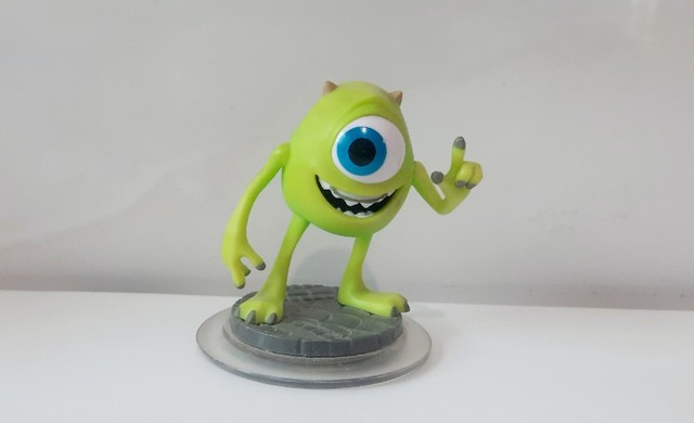 Boneco Mike - Monstros  S.A - Disney Infinity  1.0