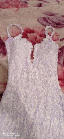 Vestido de noiva cívil - Foto 4