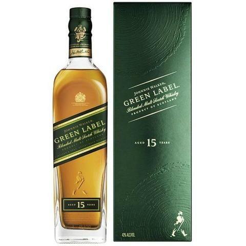 Whisky Johnnie Walker Green Label 15 Anos 750 Ml Original