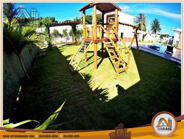 Vendo casa duplex em condomínio c/ 3 suítes no Eusébio - Foto 6