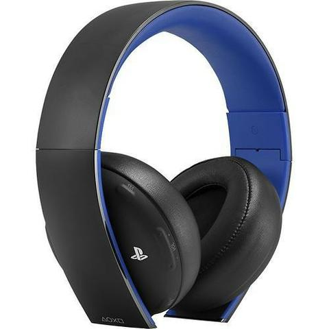 Headset Stereo Wireless Sony 7.1 New Gold Edition PS4 - Foto 3