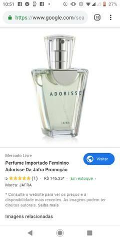 Perfume Jafra Adorisse promoção