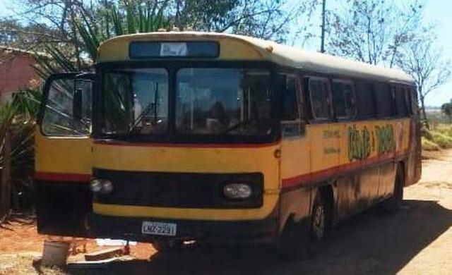 Ônibus Monobloco, mecânica ok e pneus novos - Troco por Van ou Carro do meu interesse - Foto 2