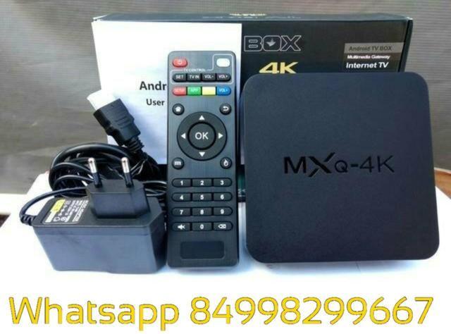TV Box em promoção MXQ Mx9 Mxq pro 4k 16gb - Foto 2