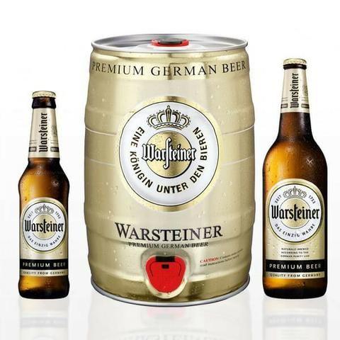 Warsteiner Premium, Ceverja Importda da Alemanha - Foto 2