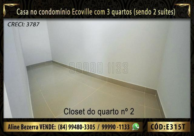 Oportunidade, casa no Ecoville com 3 quartos sendo 2 suítes, aceita financiamento - Foto 10