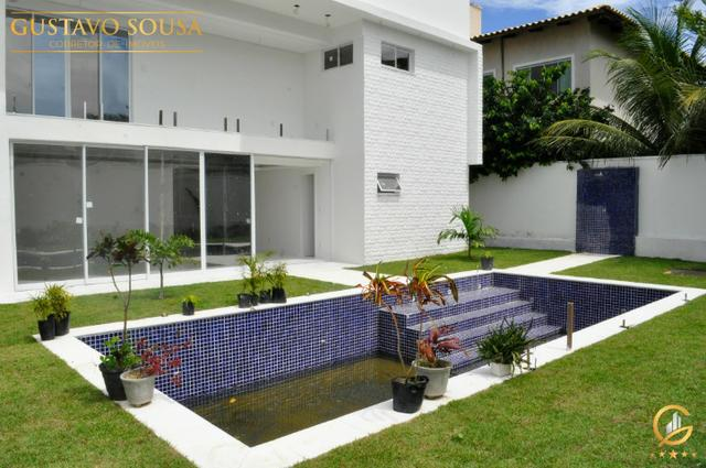 Mansão no Alphaville Fortaleza com 4 Suítes e Arquitetura diferenciada - Foto 3