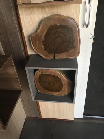 Tábua de cortar carne em madeira de ype roxo - Foto 3