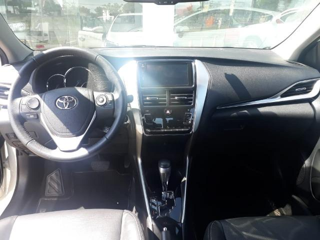 (Concessionaria) TOP de Linha Toyota Yaris Sedan XLS 2019 8,186Km R$ 77.900,00 - Foto 5