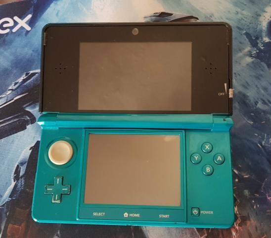 3DS Ocean Blue Destravado+case - Foto 4