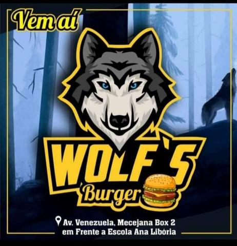 Inauguração do wolf's burguer