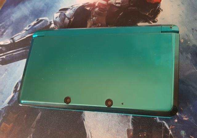3DS Ocean Blue Destravado+case - Foto 3