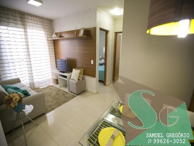 SAM - 66 - Via Sol - 2 quartos - 48m² - Morada de Laranjeiras - Serra, ES - Foto 6