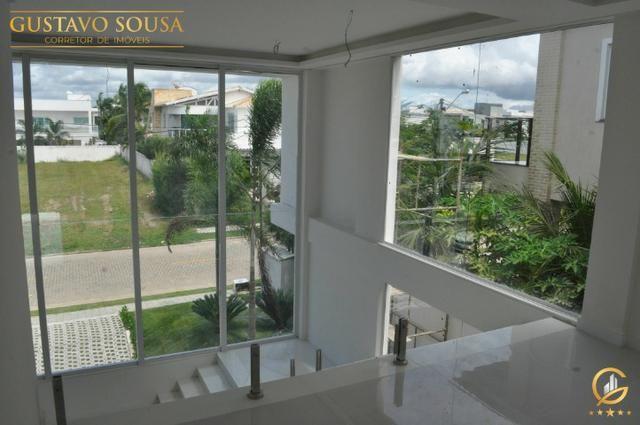 Mansão no Alphaville Fortaleza com 4 Suítes e Arquitetura diferenciada - Foto 12