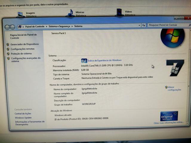 PC completo positivo tudo funcionando - Foto 4