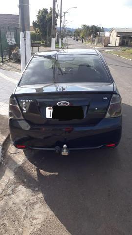 Vendo Fiesta Sedan 2011 1.6 Completo - Foto 3
