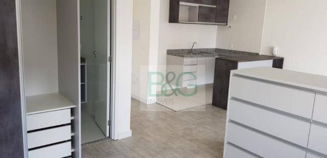 Studio com 1 dormitório para alugar, 34 m² por r$ 2.102,00/mês - ipiranga - são paulo/sp - Foto 19