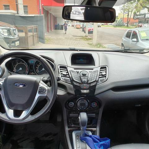 Super oferta Fiesta Sedan Titaniun ano 2014 completo apenas 40000km - Foto 5