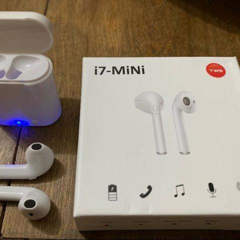 R$ 45 Fone Bluetooth i7 mini - Foto 4